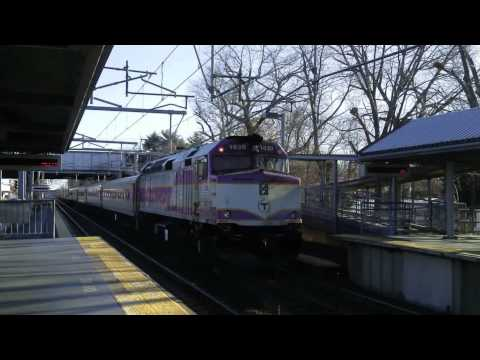 [HD] Railfanning South Attleboro, MA on December 6, 2013