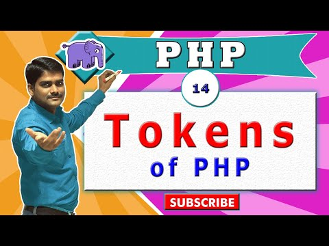 PHP Video Tutorial 14 - Tokens Of PHP Language