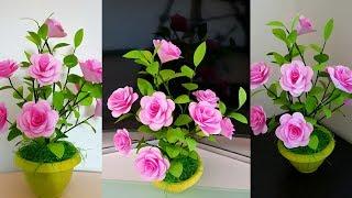 Download Cara Membuat Bunga Kertas Origami    Beautiful flower craft from origami paper Mp3