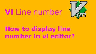 vi display line number
