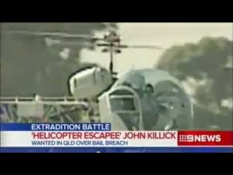 Escape From Prison Via A Helicopter In Australia