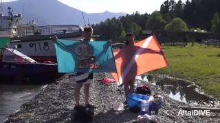 Международный День очистки водоёмов на Телецком озере - объекте Всемирного наследия ЮНЕСКО