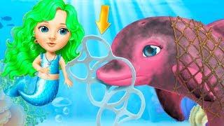 Fun Sweet Baby Girl Care - Mermaid Life - Play Magical ocean Underwater Explorer Dress Up Mini Games