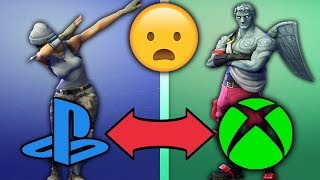 How To Cross Platform Between Xbox & PS4   Fortnite Crossplay PS4 & Xbox SHOULD BE ADDED!