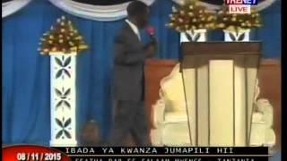 Efatha Ministry: Mahubiri Ya Jumapili 08 Nov 2015