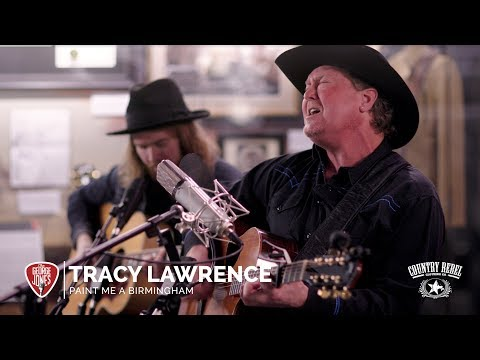 Tracy Lawrence - Paint Me a Birmingham // The George Jones Sessions