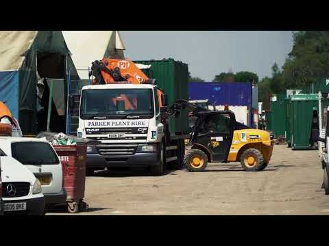 Site Accommodation - Parker Plant Hire Ltd, Llanelli