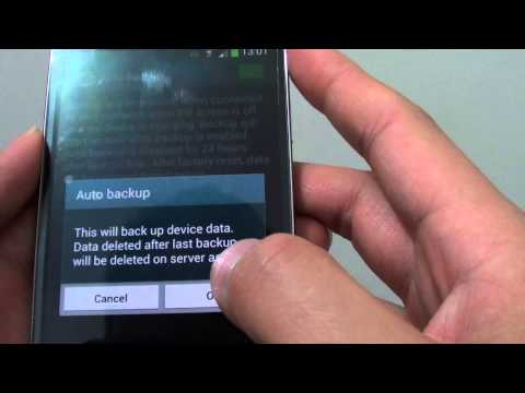 Samsung Galaxy S4: How to Enable/Disable Auto Backup of Logs SMS, MMS and Wallpaper