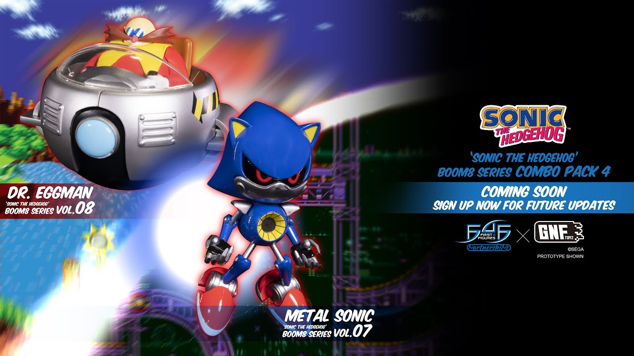 A First Look At Sonic The Hedgehog Boom8 Series Combo Pack 4 Youtube