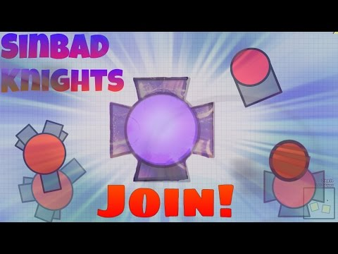 Diep.io JOIN SINBAD KNIGHTS!! + SANDBOX FUN