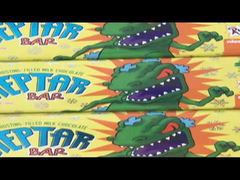 Eating Reptar Bars with Celebrity Guest
