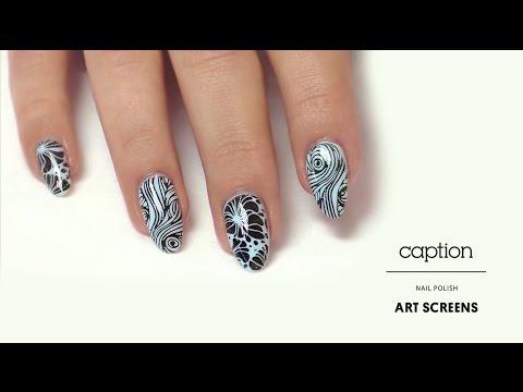 Caption Nail Art 1