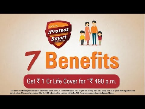 7 Benefits of our Term Plan - ICICI Pru iProtect Smart