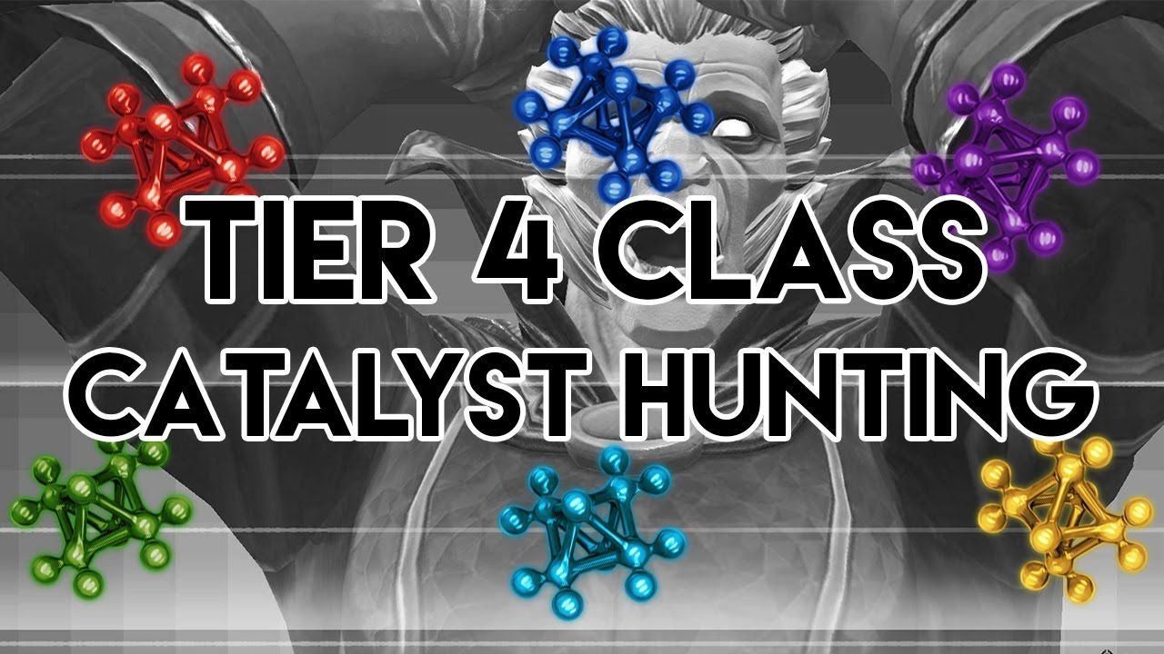 Tier 4 Class Catalyst Hunting! - Marvel Contest of Champions - YouTube
