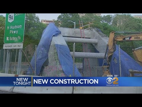 Mystery Construction On The West Side