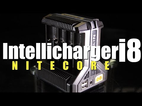 New INTELLICHARGER I8 By Nitecore (8 Battery Slots) ~Battery Charger Review~