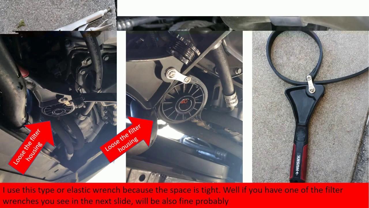 Engine oil and filter change on a 2012 VolksWagen passat 2 5-UPDATE
