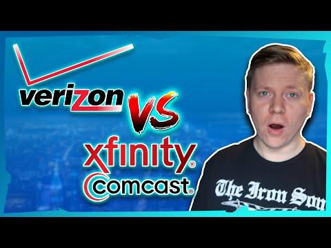 Verizon Fios VS Comcast Xfinity - 1 Gigabit Internet [Boston, MA]