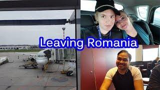 Leaving Romania | India Trip part 1| Romanian Airport