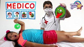 JP é médico por um dia e salva a Maria Clara! ♥ History of washing hands
