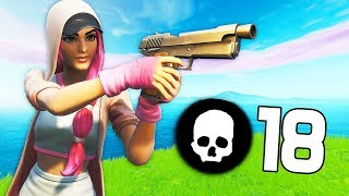 18 KILLS MEGA RUSH WITH THE NEW SKIN ''GRACILE'' ON FORTNITE!