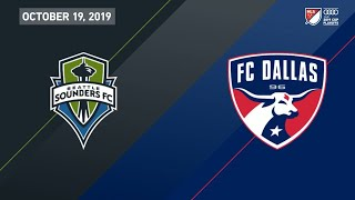 2019 Audi MLS PLAYOFF HIGHLIGHTS: FC Dallas 3, Seattle Sounders 4
