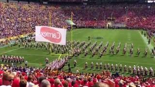 University of Wisconsin Marching Band run on and On