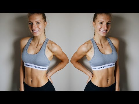 10 min AB WORKOUT | AT HOME NO EQUIPMENT | Core Strength, Get MADFIT with me