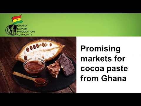 Ghana Promising Markets - Cocoa Paste (2017)