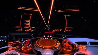 Elite: Dangerous 1.5 Beta - Cutter vs Corvette, also a Viper mkIV