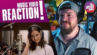 SPEECHLESS Naomi Scott - Official Music Video REACTION | Disney's Aladdin 2019
