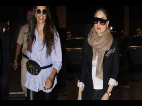 In Graphics: bollywood celebrity snapped at airport this week