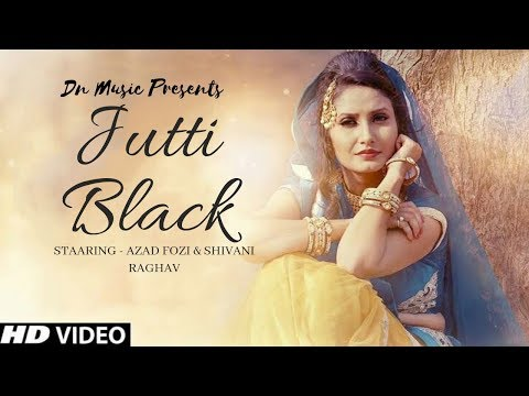 JUTTI BLACK - Dj Remix | Shivani Raghav, Ajay Maan | Sannu Doi | New Haryanvi Songs Haryanavi 2019