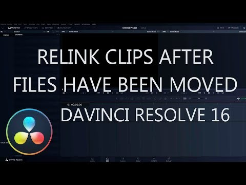 How To Relink Clips in DaVinci Resolve That Have Been Moved