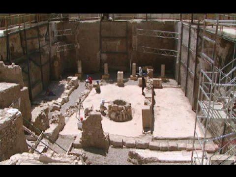 Patrimonio romano en el Alcázar de Sevilla: arqueología en el Patio Banderas