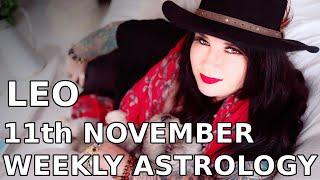 Leo Weekly Astrology Horoscope 11th November 2019