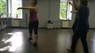 Урок Латины с Ксенией Старокожевой. Фитнес-клуб Titanium.