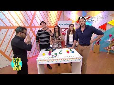 """Te veo a la una (TV Perú) - juguemos """"Házmelo tú"""" - 20/06/2018"""