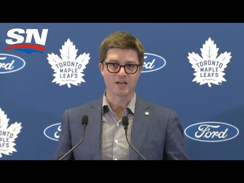 Toronto Maple Leafs GM Kyle Dubas on Nylander Contract, Defense and More! - FULL Press Conference