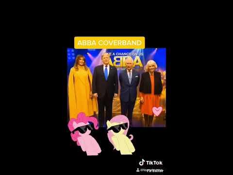 Mamma Mia - ABBA music vine Trump & Melania British royal family Funny vines