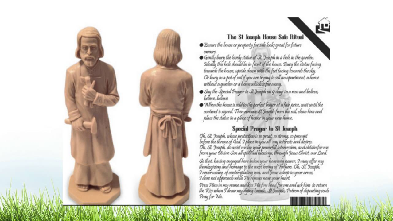 the saint joseph house selling statue unboxing video youtube. Black Bedroom Furniture Sets. Home Design Ideas