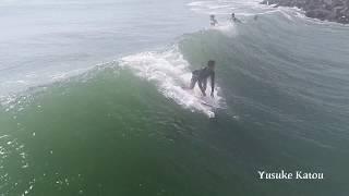 【空撮サーフィン】8.21 Chiba (Yusuke Katou, Yuuya Sunachi, Kento Tanaka)