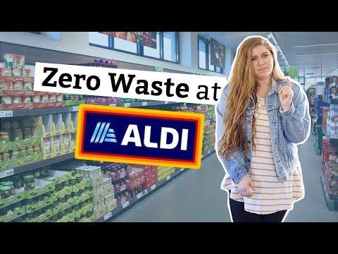 I Tried Zero Waste Grocery Shopping At Aldi ♻️🗑🍍