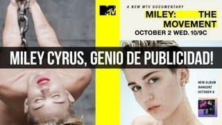 Miley Cyrus Desnuda es Victima o Genio de Publicidad?