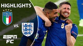 Italy WINS Euro 2020 on PENALTIES vs. England! | Highlights