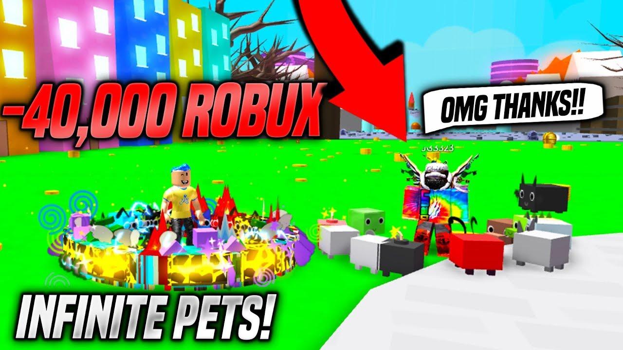Roblox Pet Simulator Russoplays Buying A Fan The Infinite Pet Gamepass In Pet Simulator 40k Robux Roblox Youtube