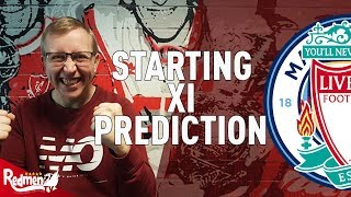 Man City v Liverpool | Starting XI Prediction