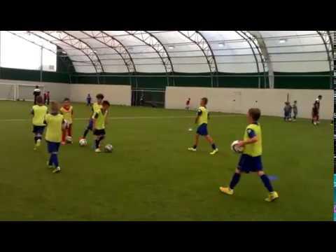 Training at Crewe Alexandra Academy