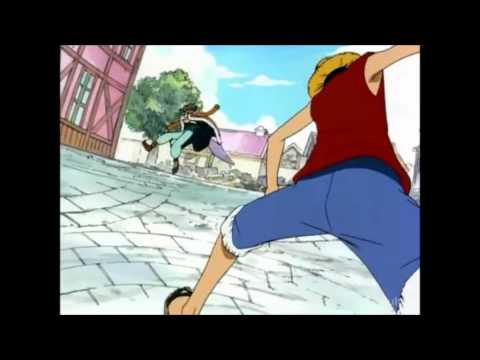 Buggy the Clown vs Luffy D.  Monkey
