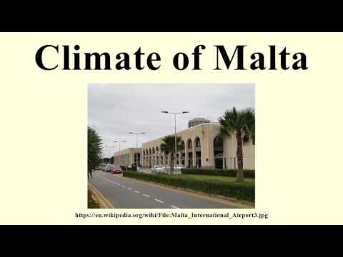 Climate of Malta